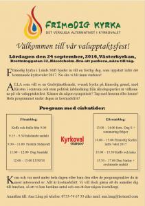 Valupptaktsfest Lund
