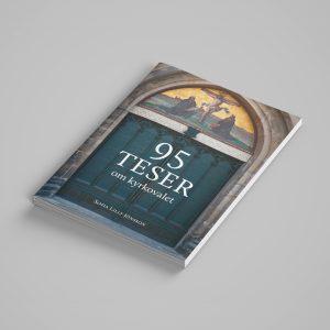 """Bild på trycksaken """"95 teser om kyrkovalet"""""""